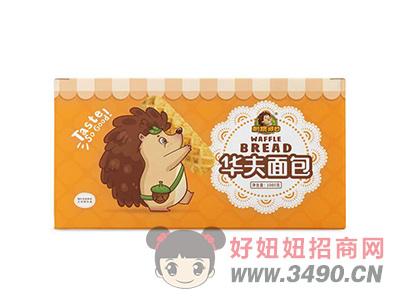 刺猬阿甘华夫面包1kg
