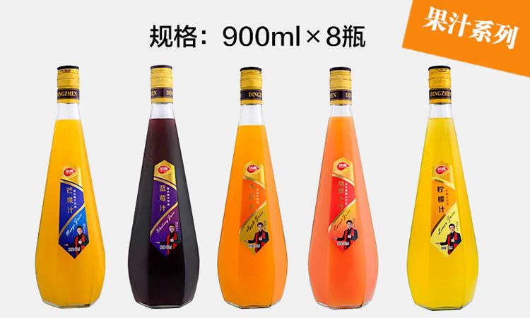 顶真芒果汁900MLx8瓶