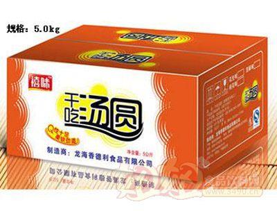 福建龙海禧味干吃汤圆5.0kg纸箱
