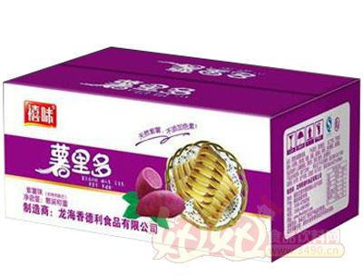 福建��海薯里多紫薯面包�箱