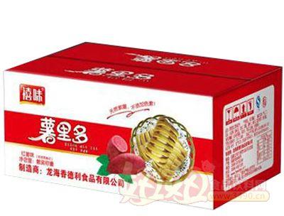 福建龙海薯里多红薯面包纸箱