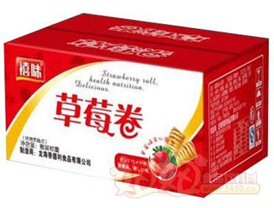 福建��海禧味草莓卷面包�箱