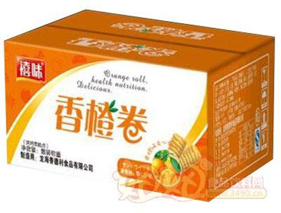 福建龙海禧味香橙卷面包纸箱