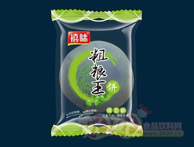 福建龙海禧味粗粮王绿豆味饼