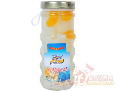 吉爽什锦饮品罐头500g