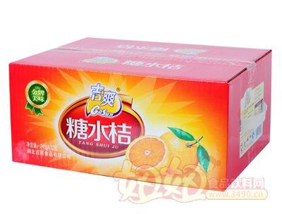 吉爽糖水桔罐头248gX12