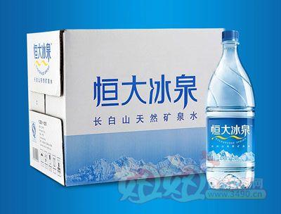 恒大冰泉纯天然矿泉水1.25L