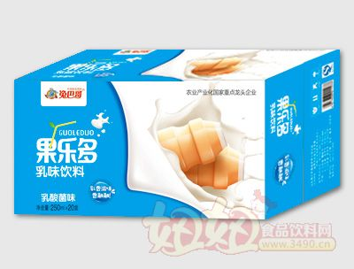 果乐多利乐砖乳酸菌250mlx2盒