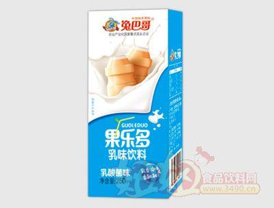 果乐多利乐砖乳酸菌味250ml