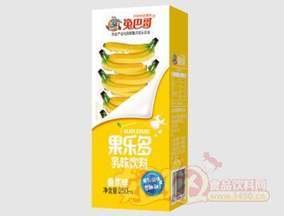 果乐多利乐砖香蕉味250ml