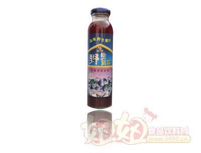 银滩大拇指蓝莓果浆饮料单瓶