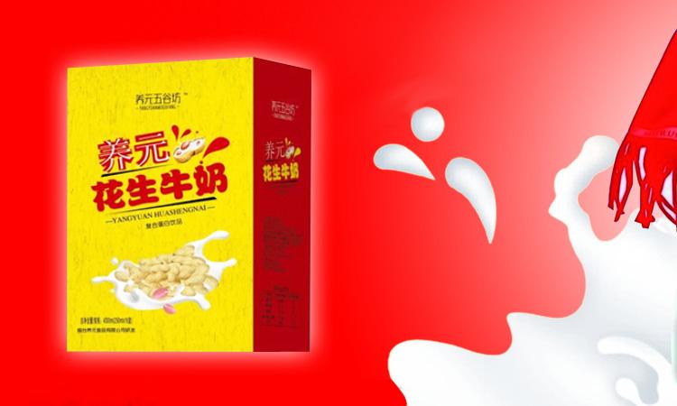 养元五谷坊养元花生牛奶复合蛋白饮品