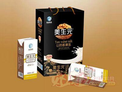 青岛奥帆山药核桃奶16盒黑卡