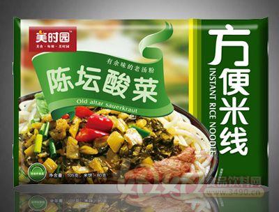陈坛酸菜方便米线袋装