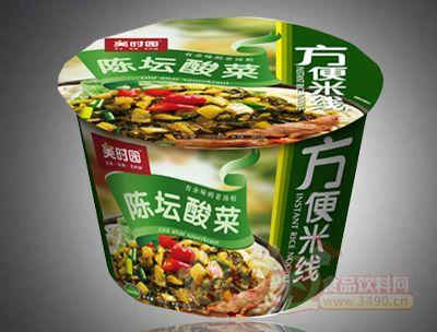 陈坛酸菜方便米线桶装