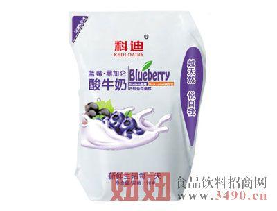 科迪蓝莓黑加仑酸牛奶