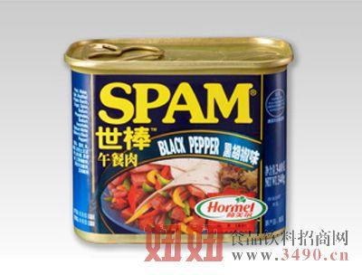荷美尔-世棒黑胡椒味午餐肉