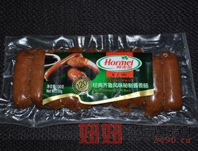 荷美尔-经典齐鲁风味秘制酱香肠