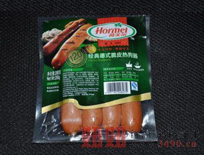 荷美尔-经典德式脆皮热狗肠