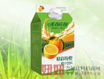 美森庄园468精彩纷橙橙汁饮料