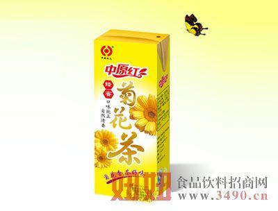 中原红菊花茶植物饮料250ml