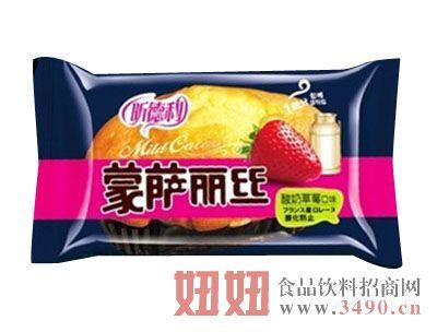 福建龙海昕德利蒙莎丽丝酸奶草莓味