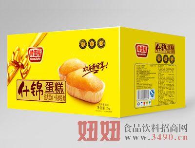 2kg帅佳福什锦蛋糕黄