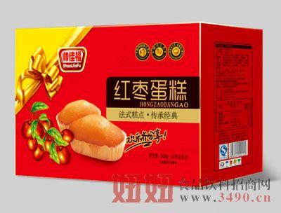 508g帅佳福红枣蛋糕