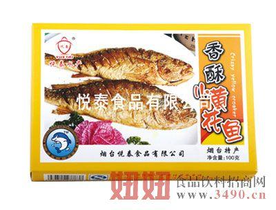 香酥小黄花鱼100克