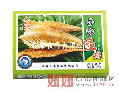 香酥鱼排100克