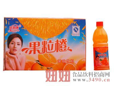 乐舒康果粒橙果味饮料