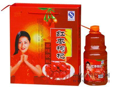 乐舒康红枣枸杞果味饮料礼盒