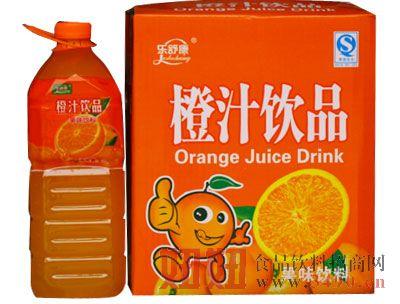 乐舒康橙汁饮品果味饮料箱装