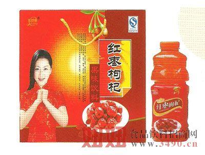 红枣枸杞1Lx4盒