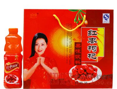 乐舒康红枣枸杞果味饮料