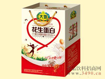 大地250mlX16盒花生植物蛋白饮品