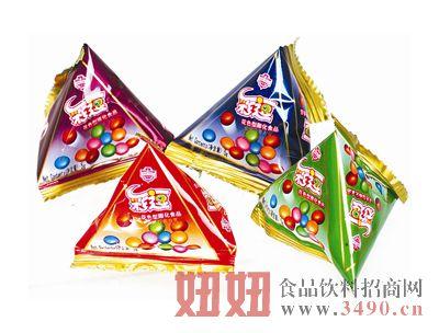 兴嘉利三角包脆皮豆