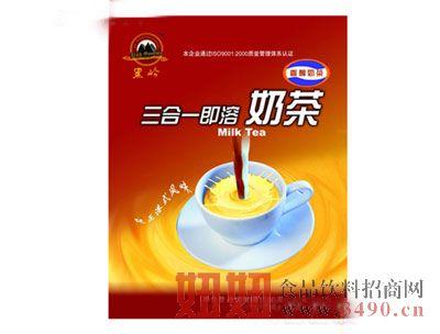 黑岭牌三合一香醇奶茶