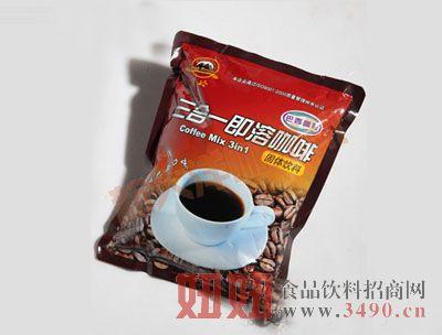 黑岭牌三合一巴西咖啡