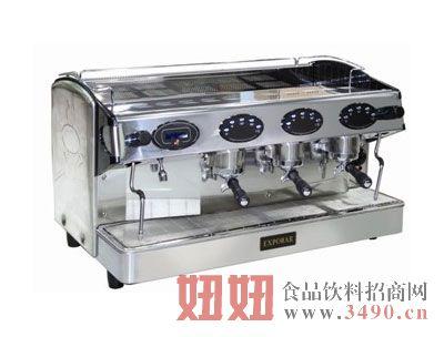 西班牙爱宝三头三锅炉半自动香浓咖啡机系列