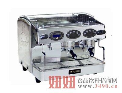 西班牙双头三锅炉半自动咖啡机