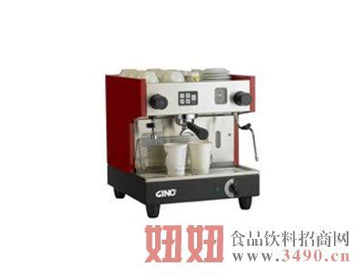 吉诺单头大型半自动咖啡机