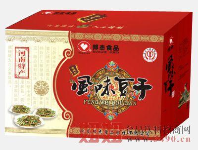邦杰豆腐干包装200克八袋
