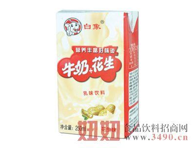 白象牛奶+花生乳味�料