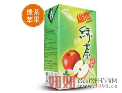 维他牛奶(绿茶苹果味)