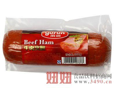 雨润300g牛肉火腿