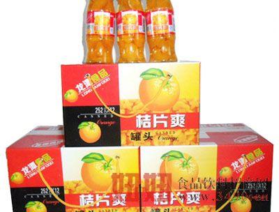 桔片爽五三口252克-1x12瓶