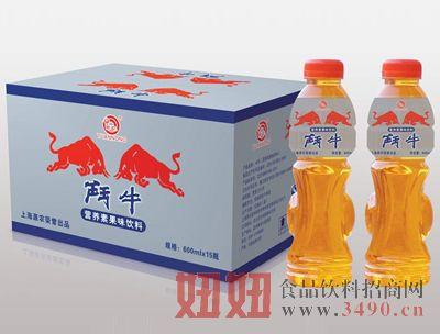 源农斗牛营养素果味饮料600mlx15瓶