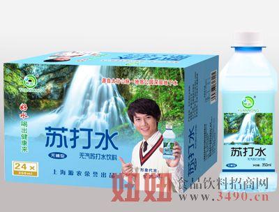 源农无糖型苏打水350mlx24瓶