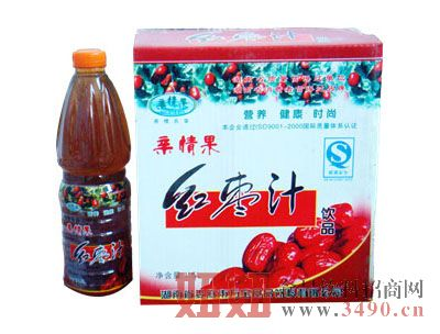 亲情果红枣汁